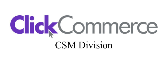 Click Commerce CSM
